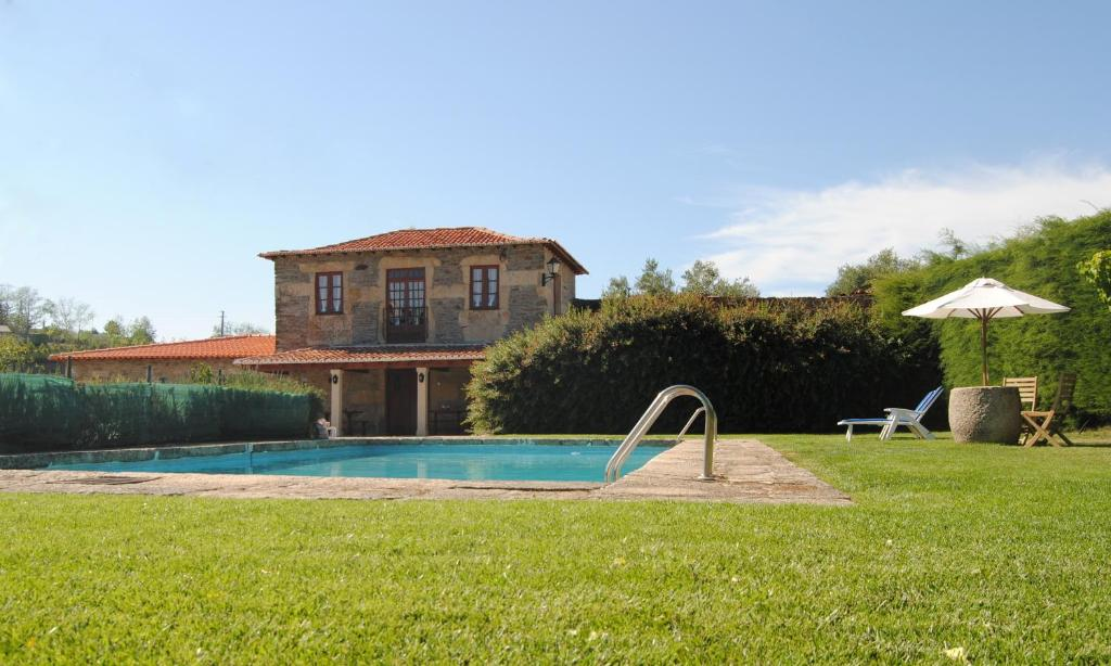 The swimming pool at or near Casa de Sao Miguel Douro