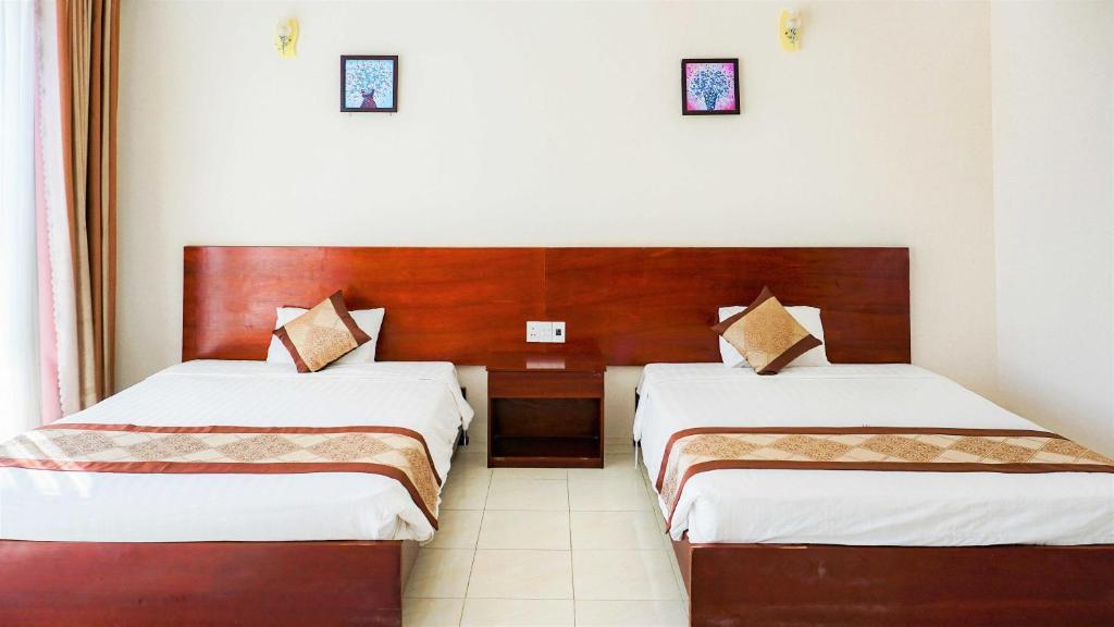 Phòng Deluxe Đôi với 2 Giường Đôi