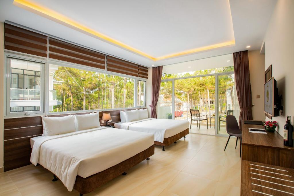 Premium Suite nhìn ra vườn