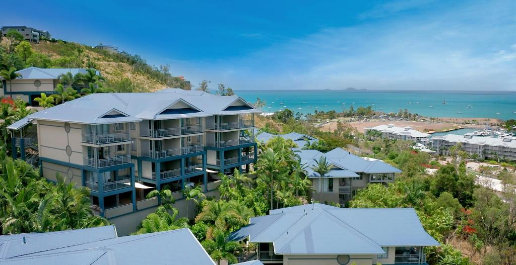 A bird's-eye view of Club Wyndham Airlie Beach