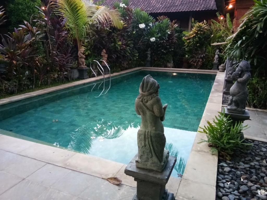 The swimming pool at or near The Sari Bungalows
