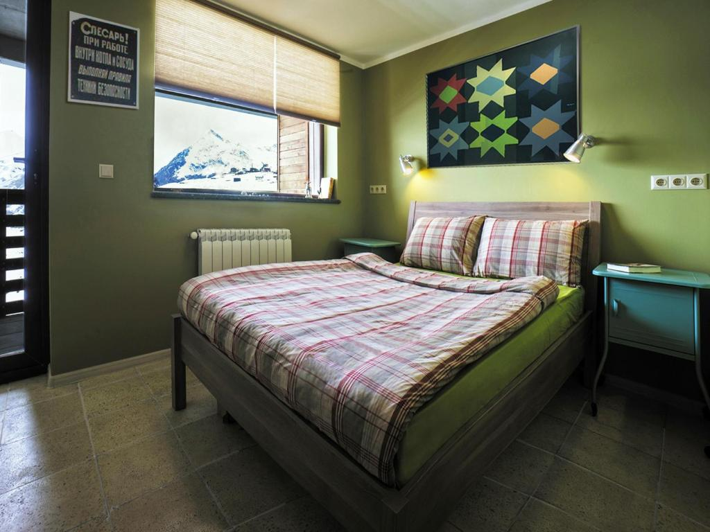 A bed or beds in a room at Tsar Bani Spa Resort