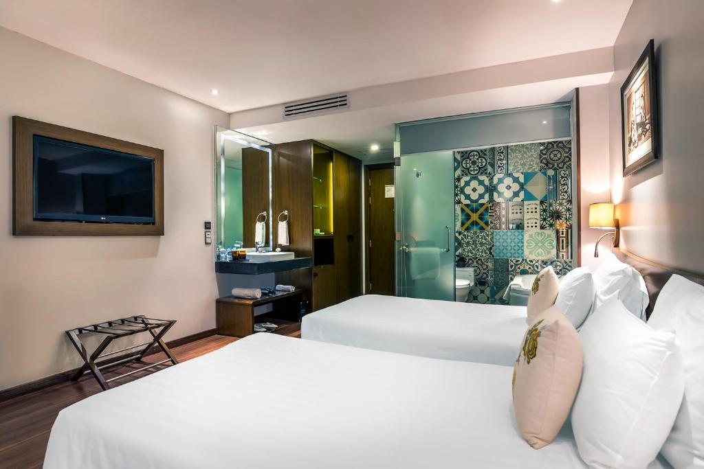 Phòng Deluxe Giường Đôi - Không có Cửa sổ