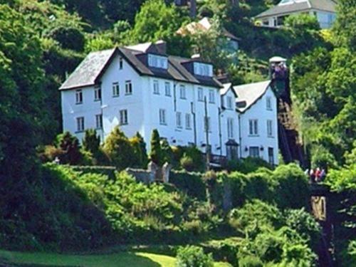 The North Cliff Hotel in Lynton, Devon, England