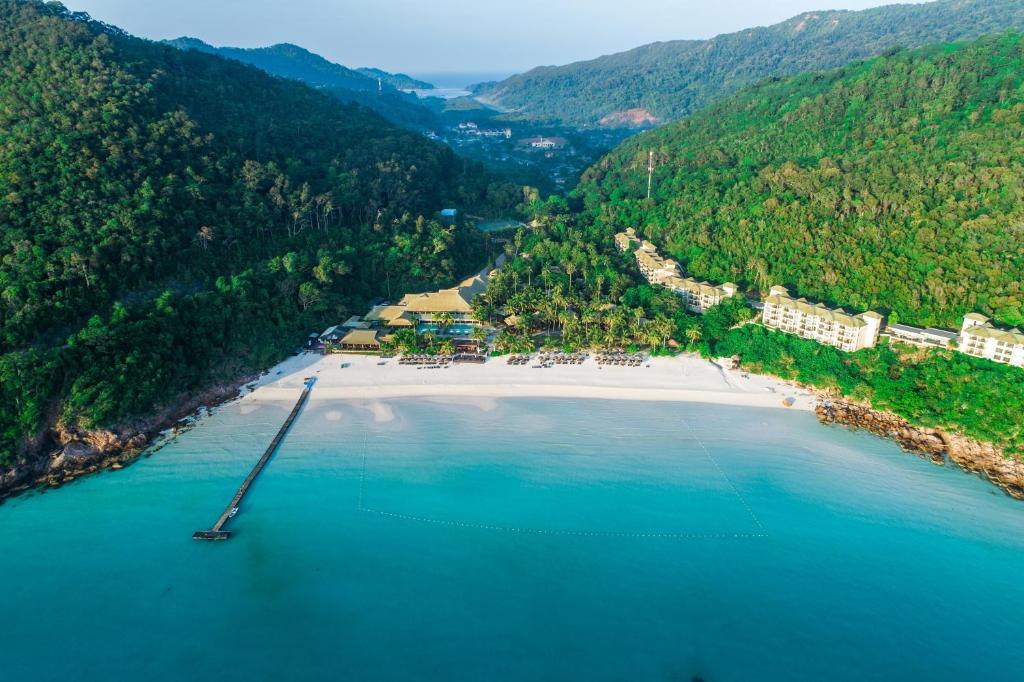 The Taaras Beach & Spa Resort с высоты птичьего полета