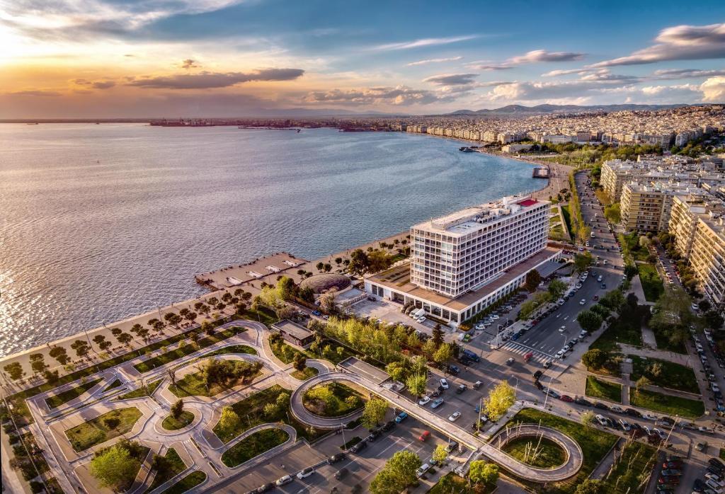 A bird's-eye view of Makedonia Palace