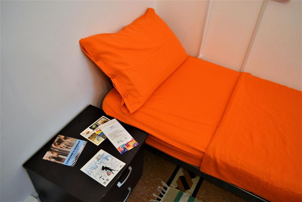 A bed or beds in a room at Via Zara
