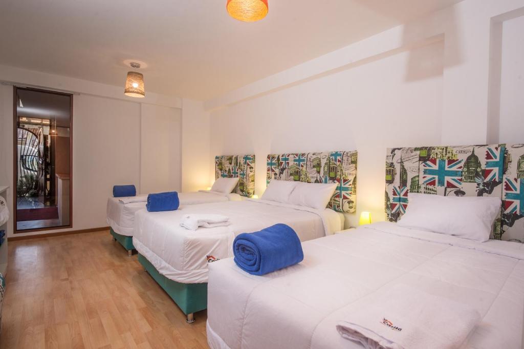 Cama o camas de una habitación en Incasita Florida