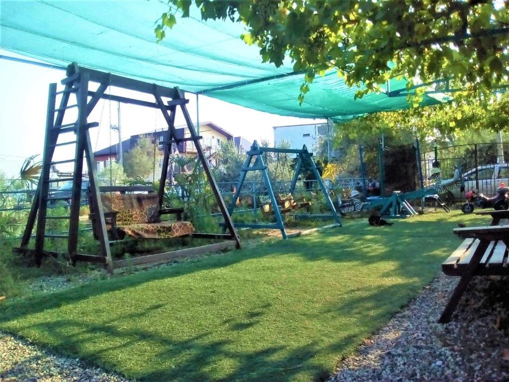 Children's play area at Guest House Azovsafari