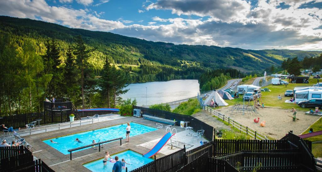 Campground Pluscamp Rustberg, Hafjell, Norway