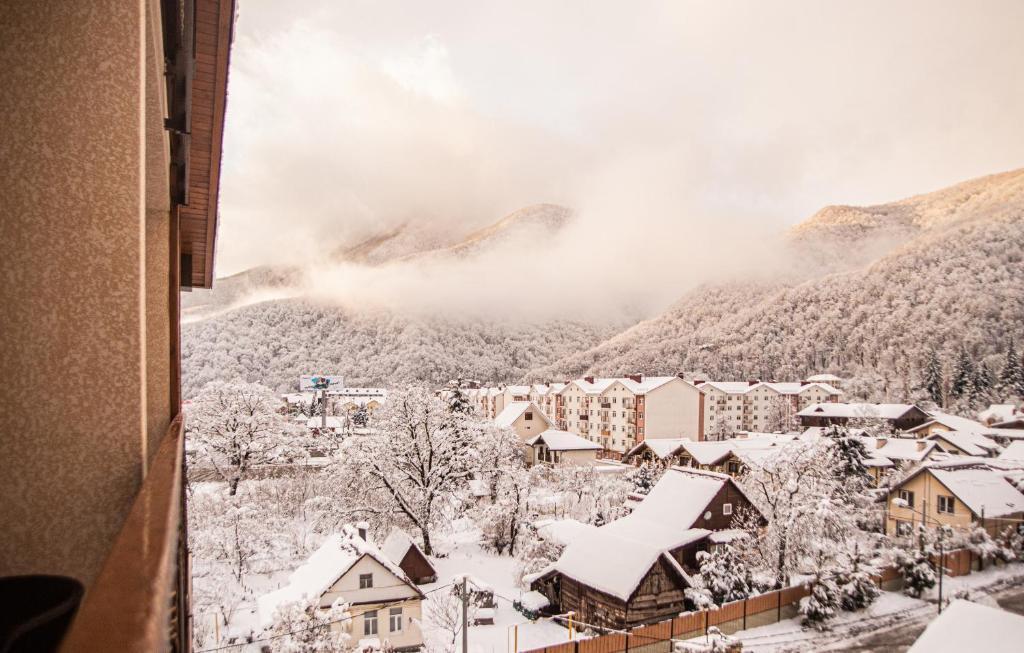 VERTEX hotel зимой
