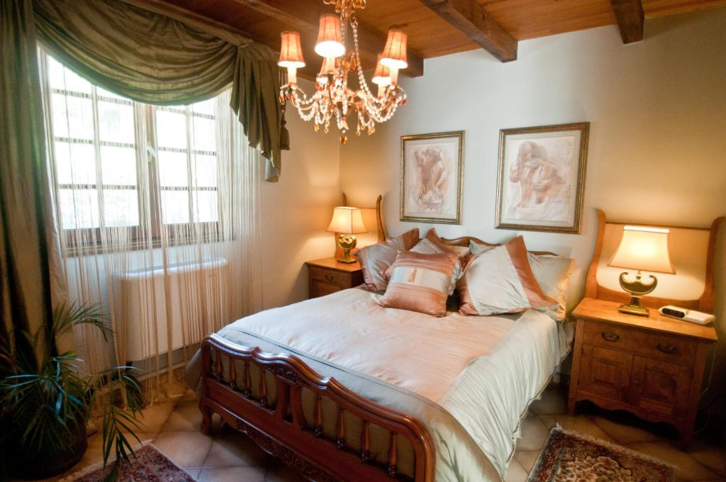 A bed or beds in a room at B&B Corsica Fiurita