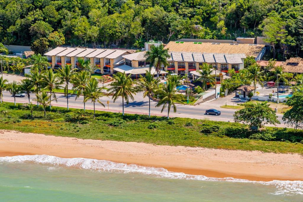 A bird's-eye view of Quinta do Sol Praia Hotel