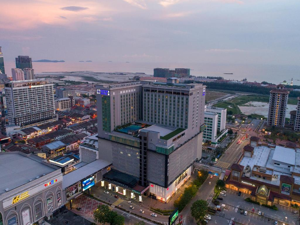 Letecký snímek ubytování Hatten Hotel Melaka