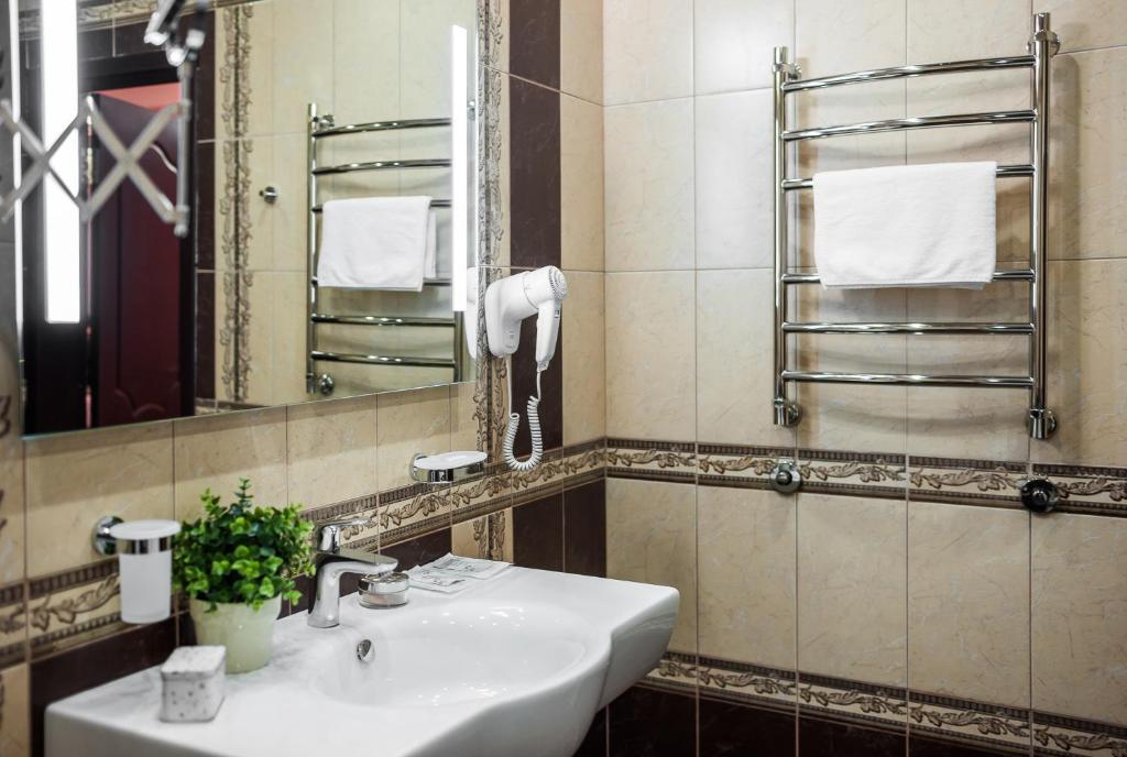 Ванная комната в Санаторий Золотой Колос