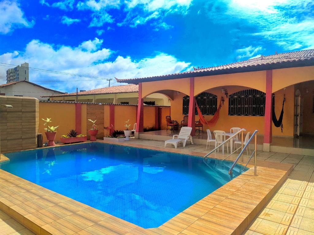 The swimming pool at or near Villa Calhau