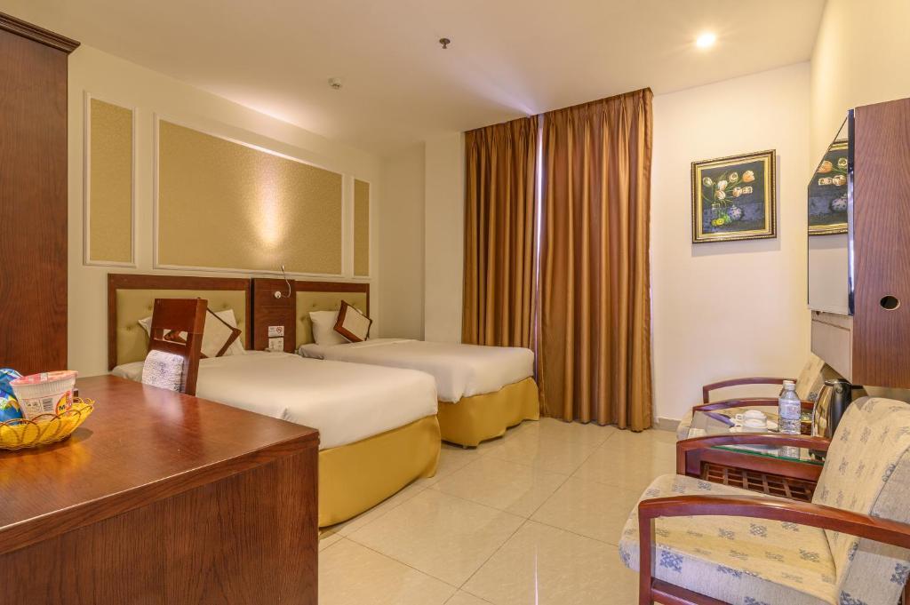 Phòng đôi hoặc phòng 2 giường đơn nhìn ra đại dương