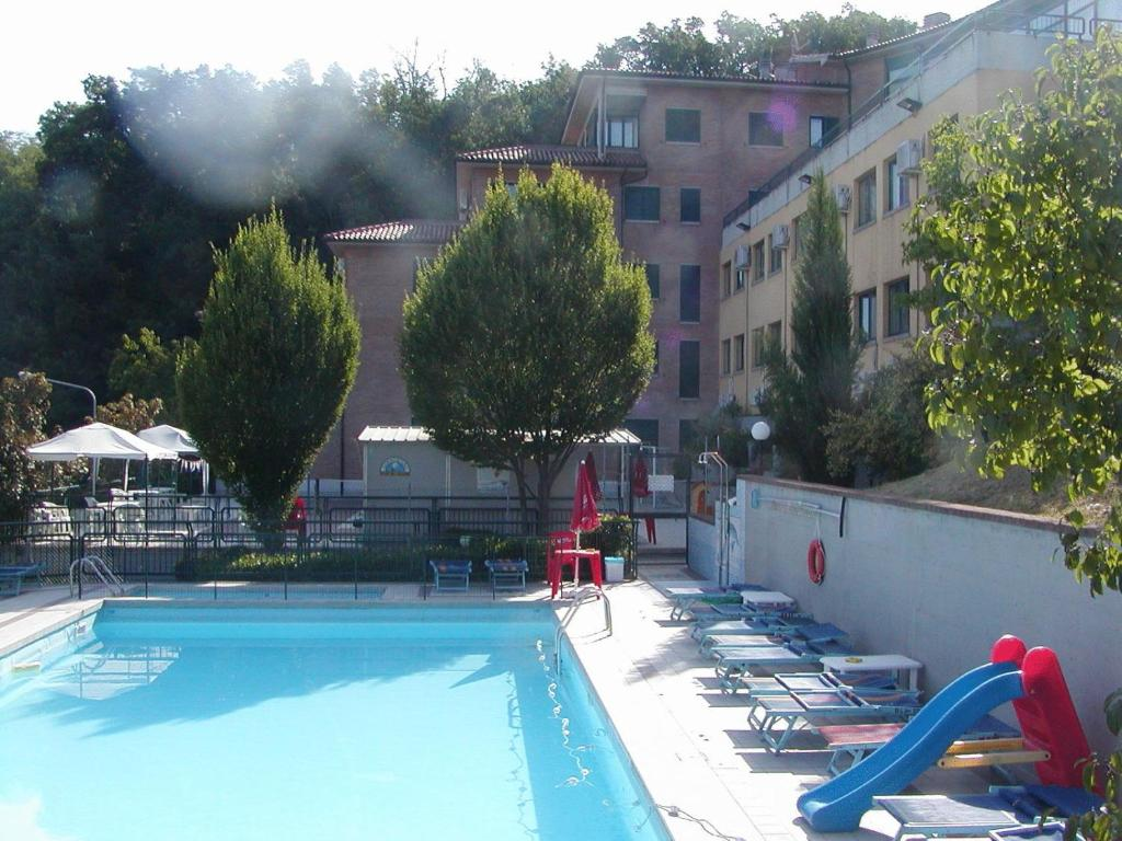 The swimming pool at or near Hotel Tortorina