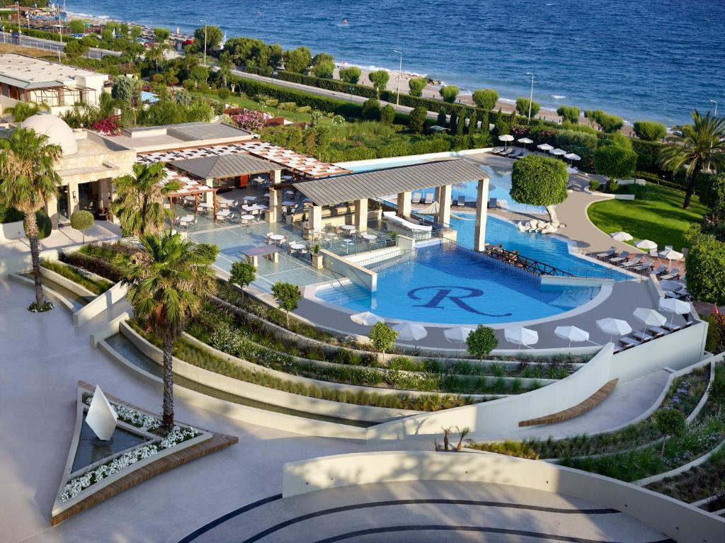A view of the pool at Rhodes Bay Hotel & Spa or nearby