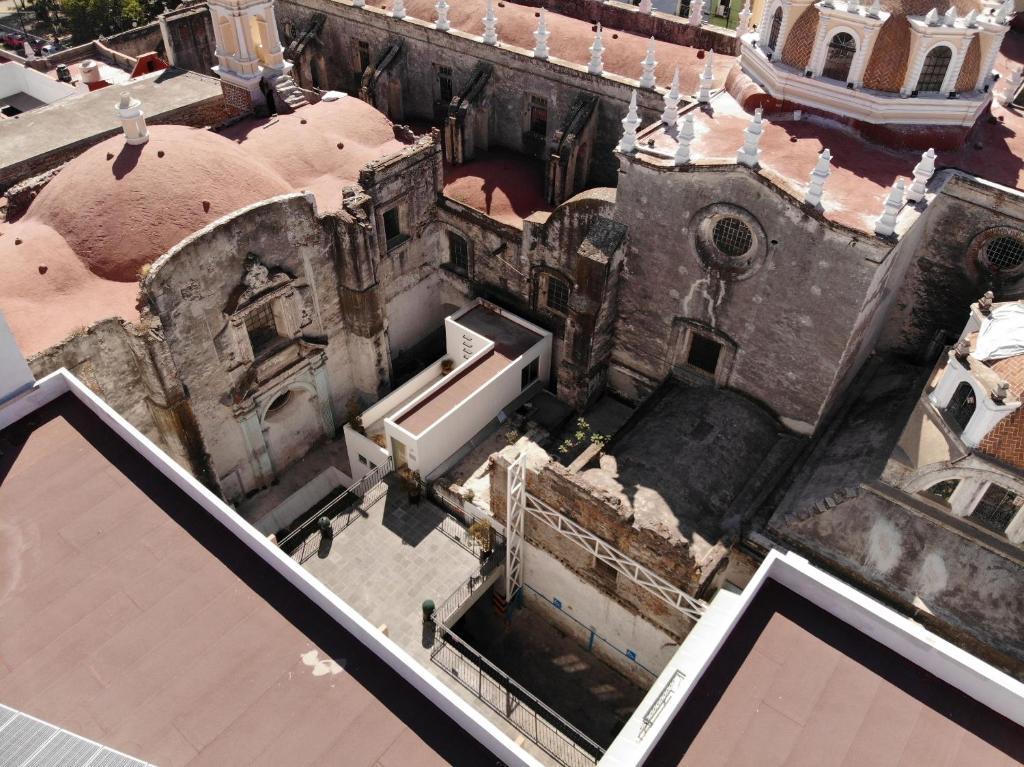 Hotel Casa de Oración San José a vista de pájaro