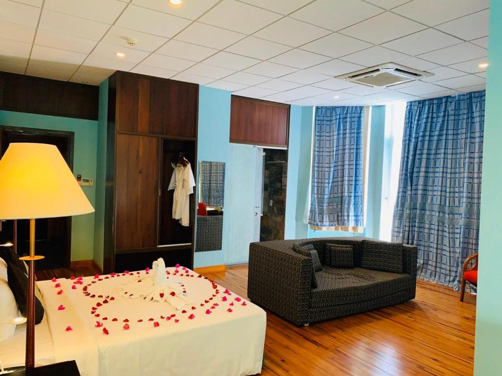Phòng Luxury Giường Đôi Nhìn Ra Biển