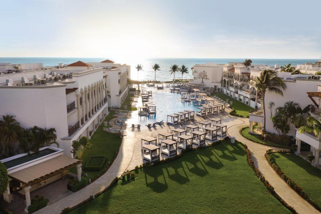 A view of the pool at Hilton Playa del Carmen an All Inclusive Resort-Formerly The Royal or nearby