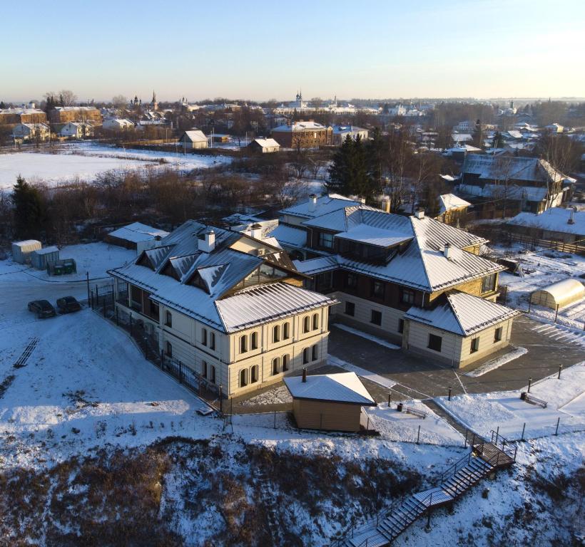 Отель «Медный Двор» с высоты птичьего полета