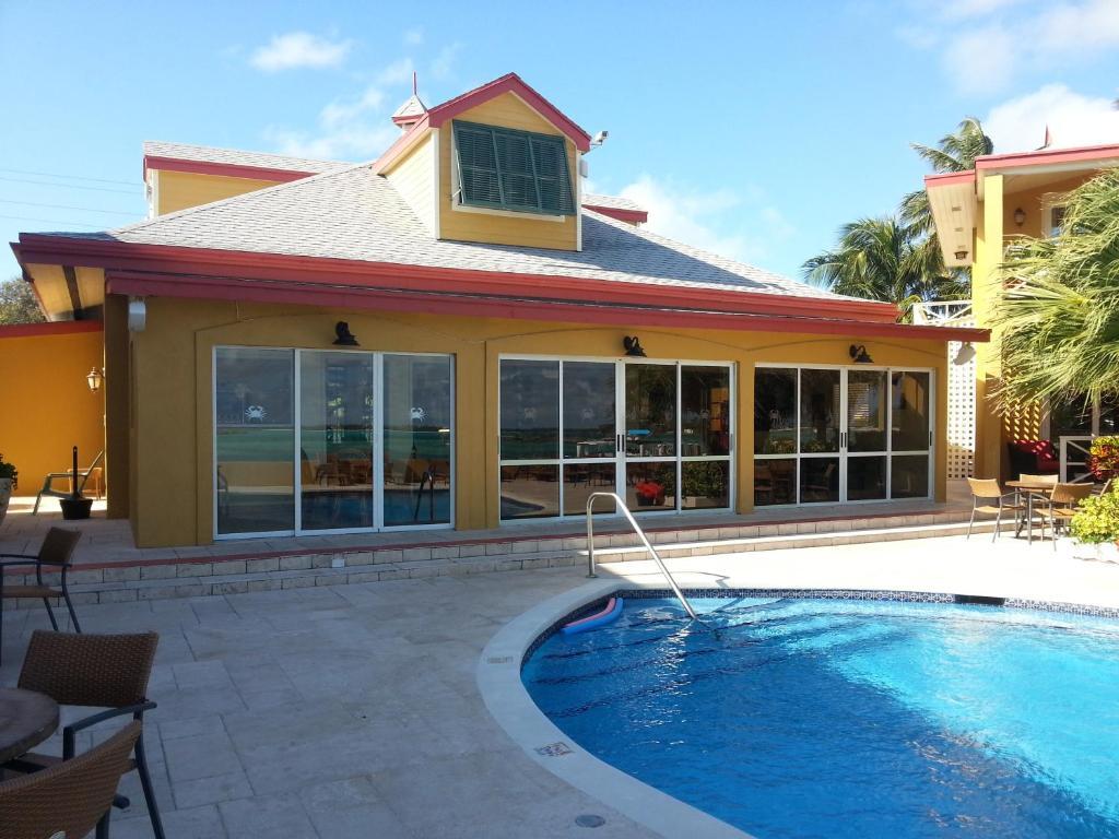 The swimming pool at or near Augusta Bay Bahamas, Exuma
