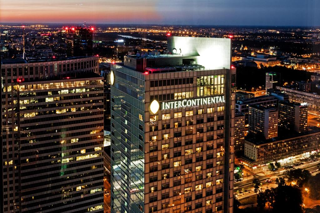 A bird's-eye view of InterContinental Warszawa