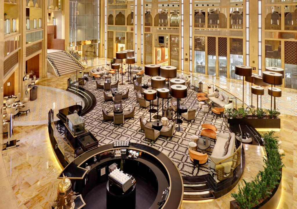 A restaurant or other place to eat at The H Dubai