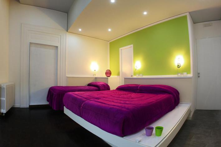 Letto o letti in una camera di The Fresh Glamour Accommodation