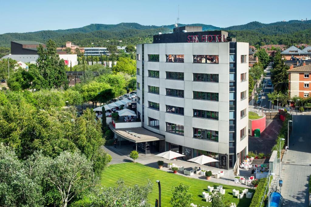 Hotel Sant Cugat a vista de pájaro