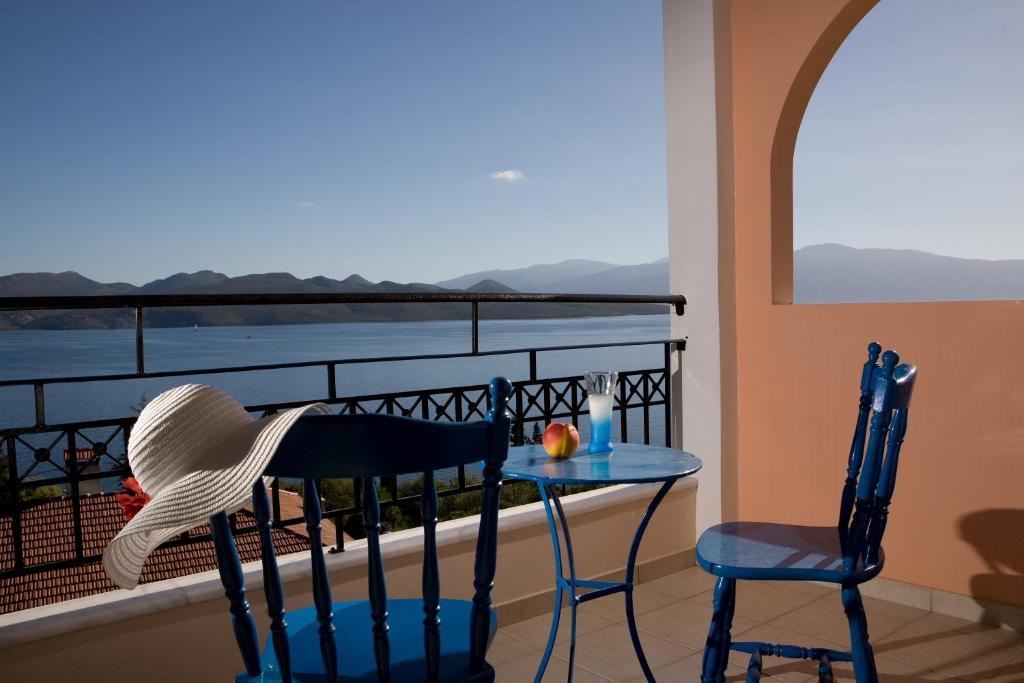 A balcony or terrace at Aristea Apartments