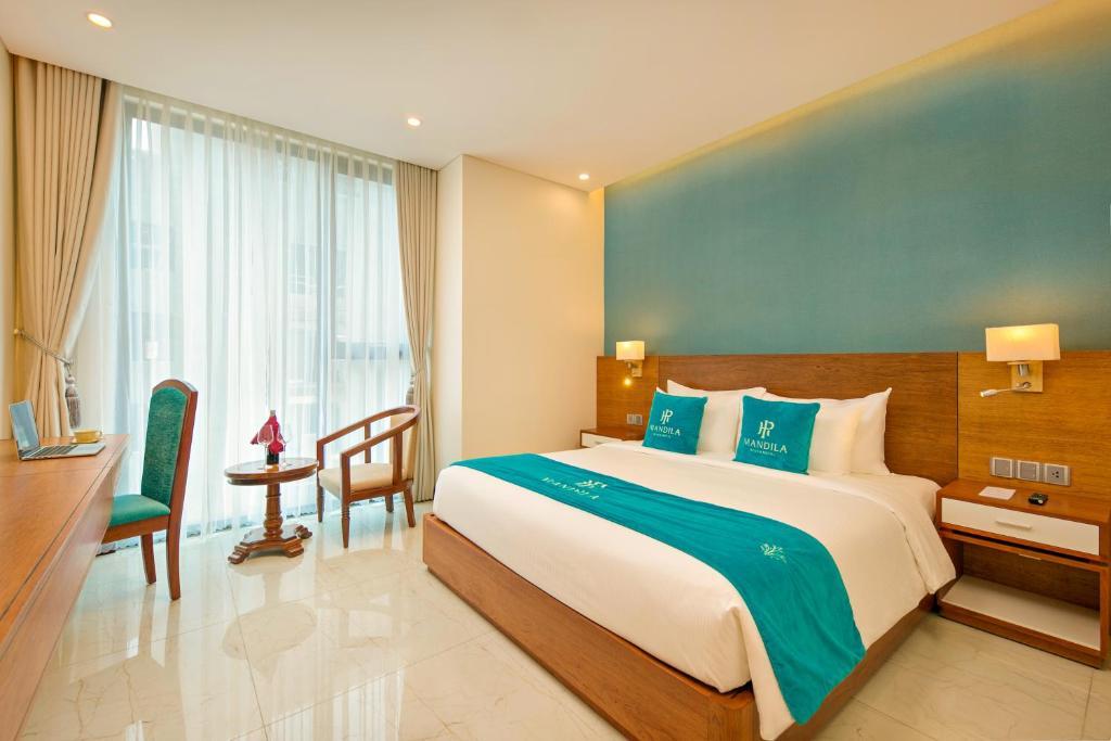Phòng Deluxe có Giường cỡ King Nhìn ra Một Góc Biển