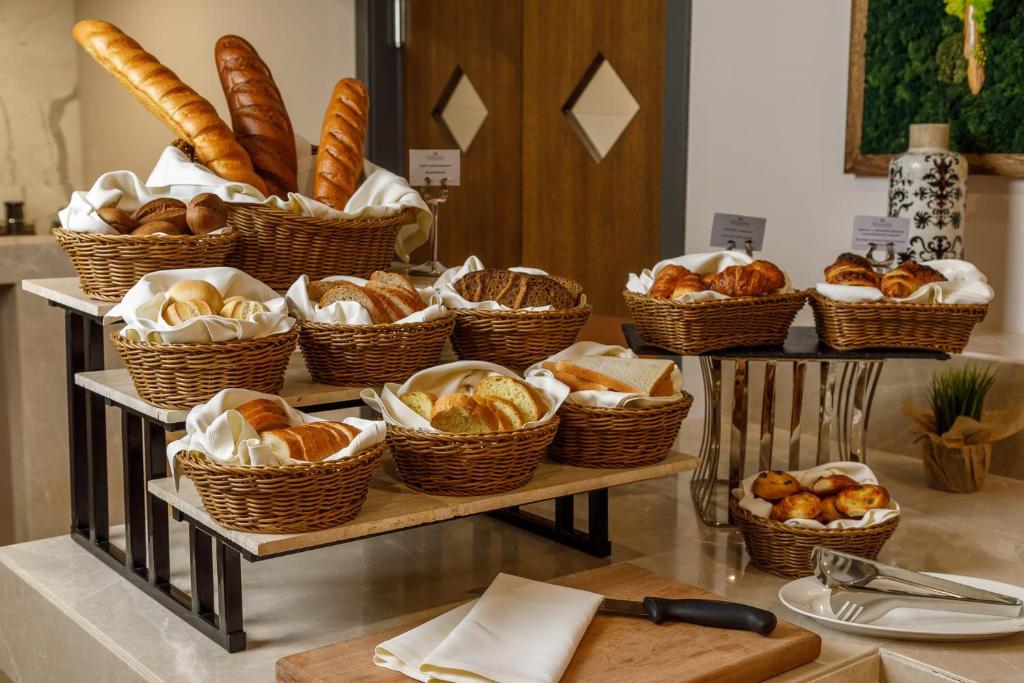 Завтрак для гостей Приморье Grand Resort Hotel
