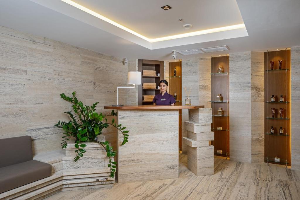 Лобби или стойка регистрации в Приморье Grand Resort Hotel