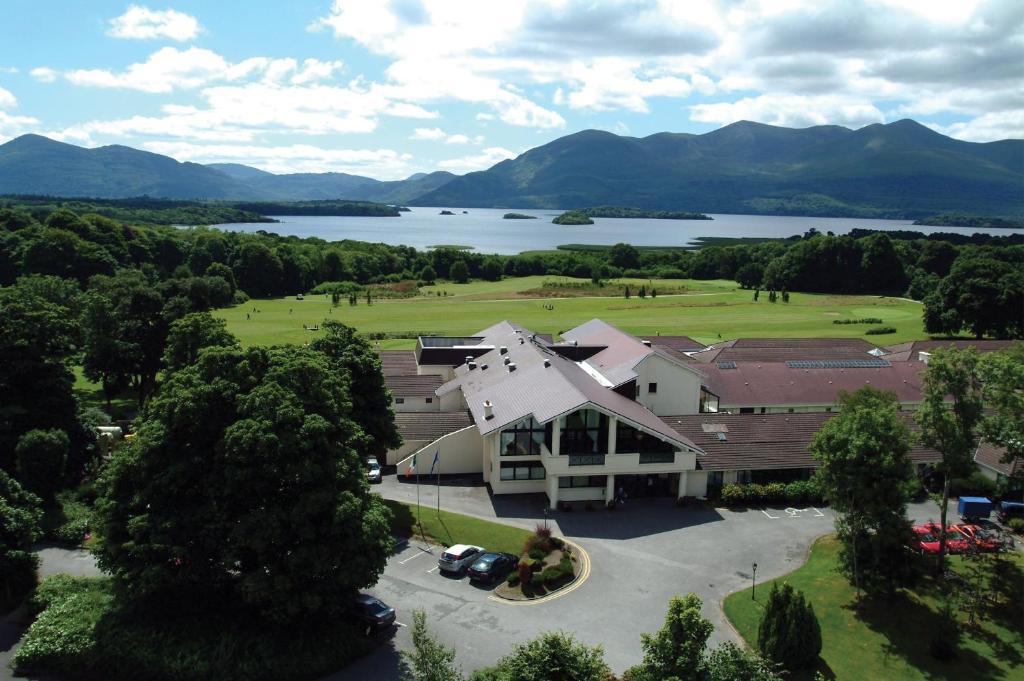 A bird's-eye view of Castlerosse Park Resort