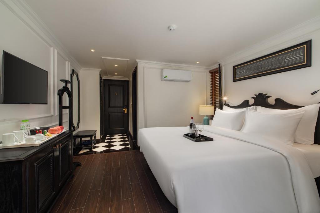 Phòng Deluxe Giường Đôi/2 Giường Đơn Không Có Tầm Nhìn