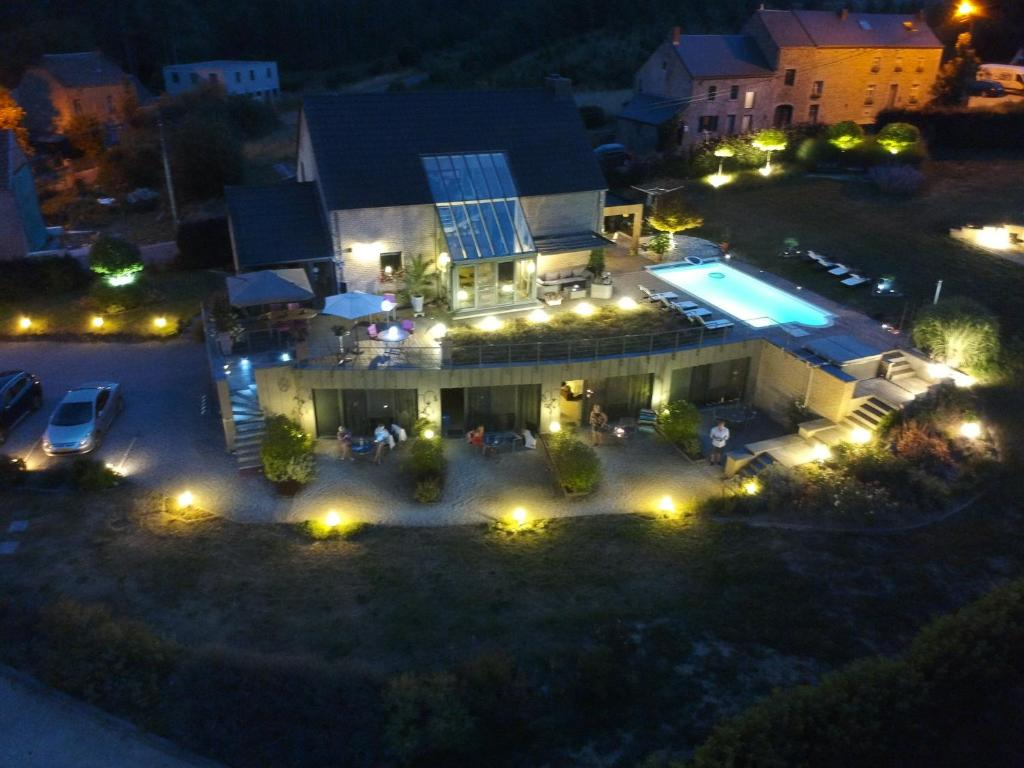 A bird's-eye view of B&B Le Bouchat-Oreille