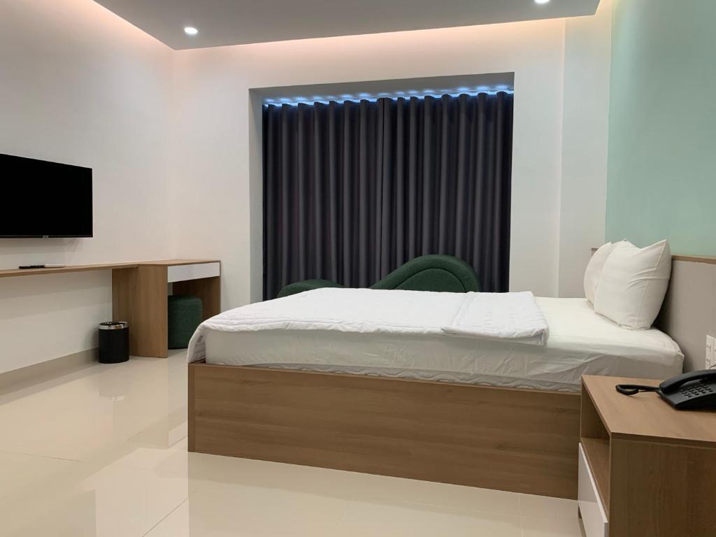 Phòng Deluxe Giường Đôi Có Bồn Tắm