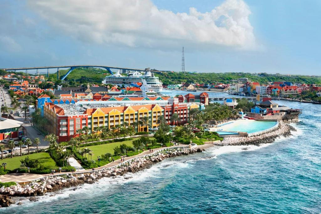 A bird's-eye view of Renaissance Curacao Resort & Casino