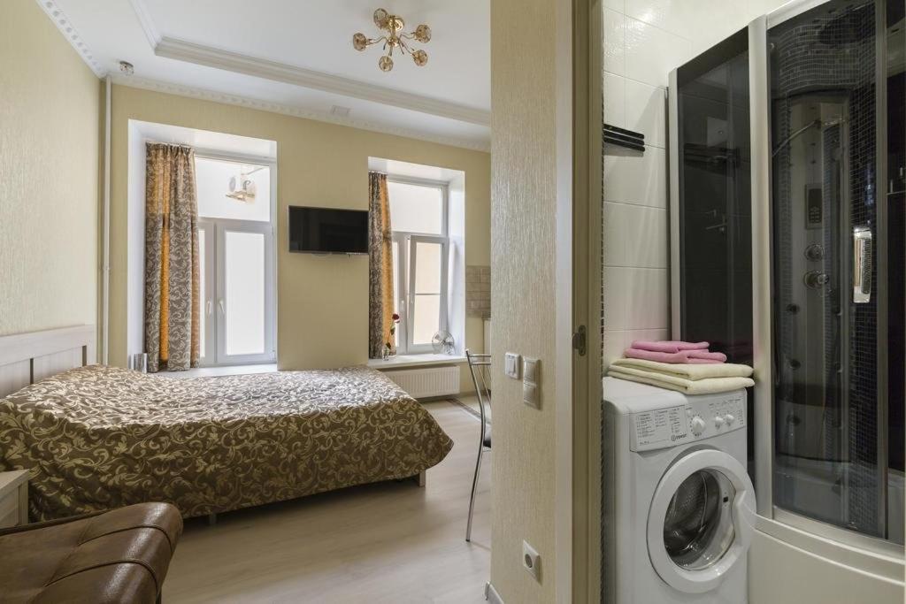Ванная комната в Апартаменты Студия, 32 м², 4/20 эт.