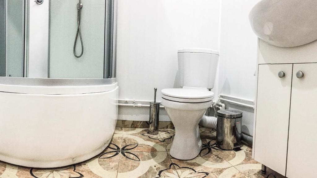 Ванная комната в Мини-отель на Лебедева 10 В