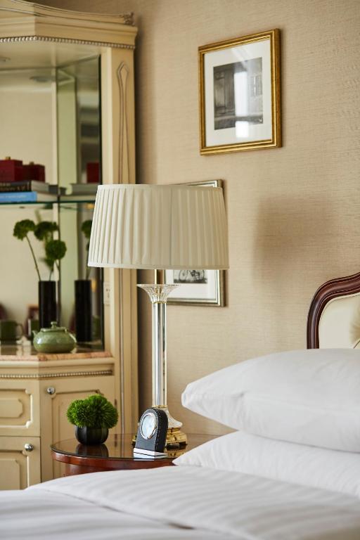 Phòng có Giường cỡ King nhìn ra Khu vườn