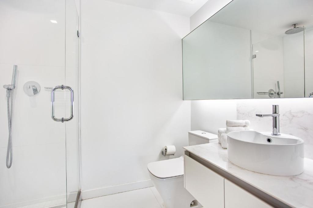 Um banheiro em OB Brickell Miami