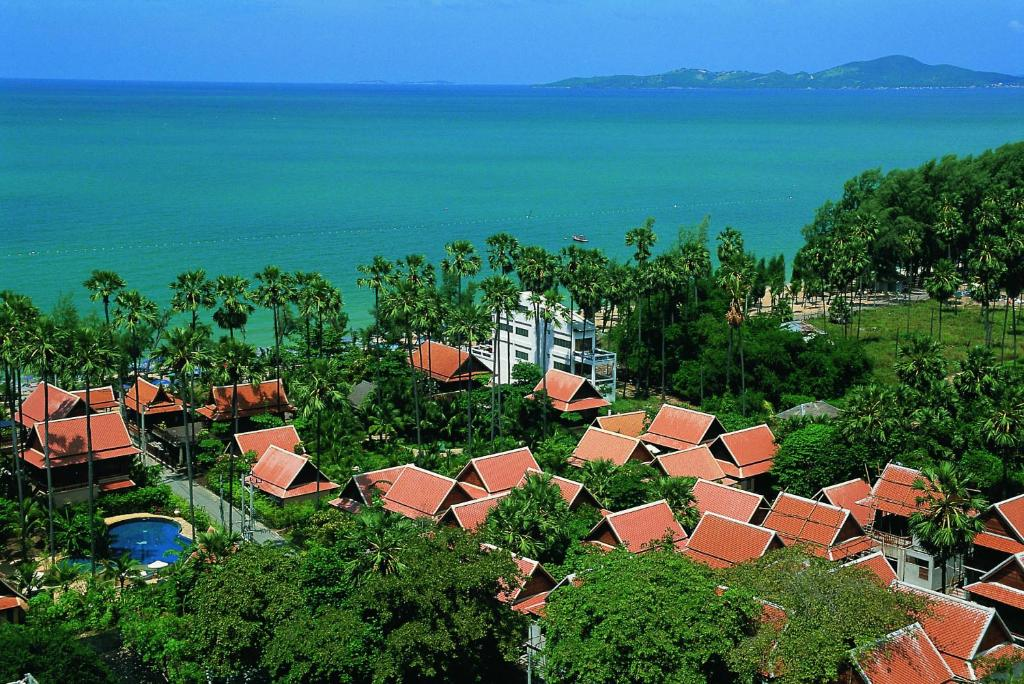 A bird's-eye view of Rabbit Resort Pattaya