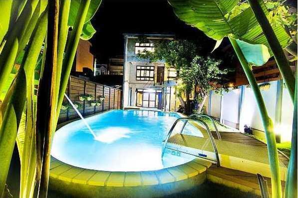 The swimming pool at or near Hsin Kang 77villa