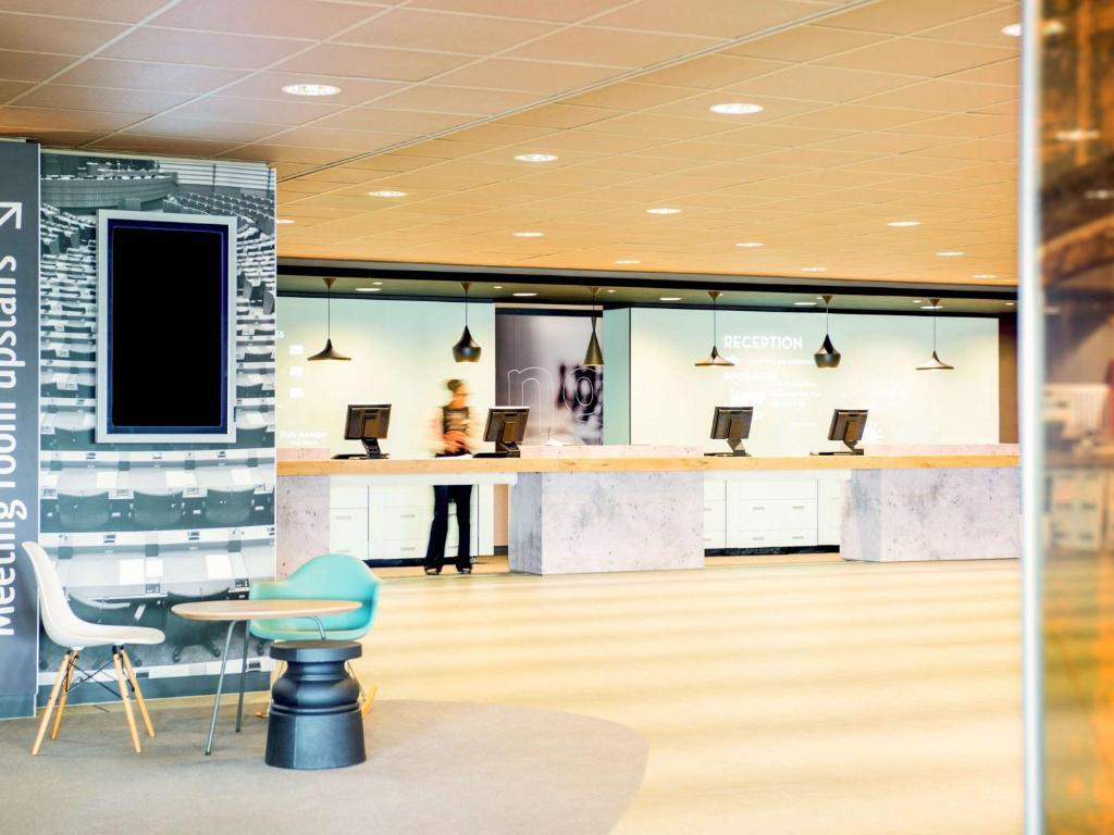 Vestibiulis arba registratūra apgyvendinimo įstaigoje Ibis Schiphol Amsterdam Airport