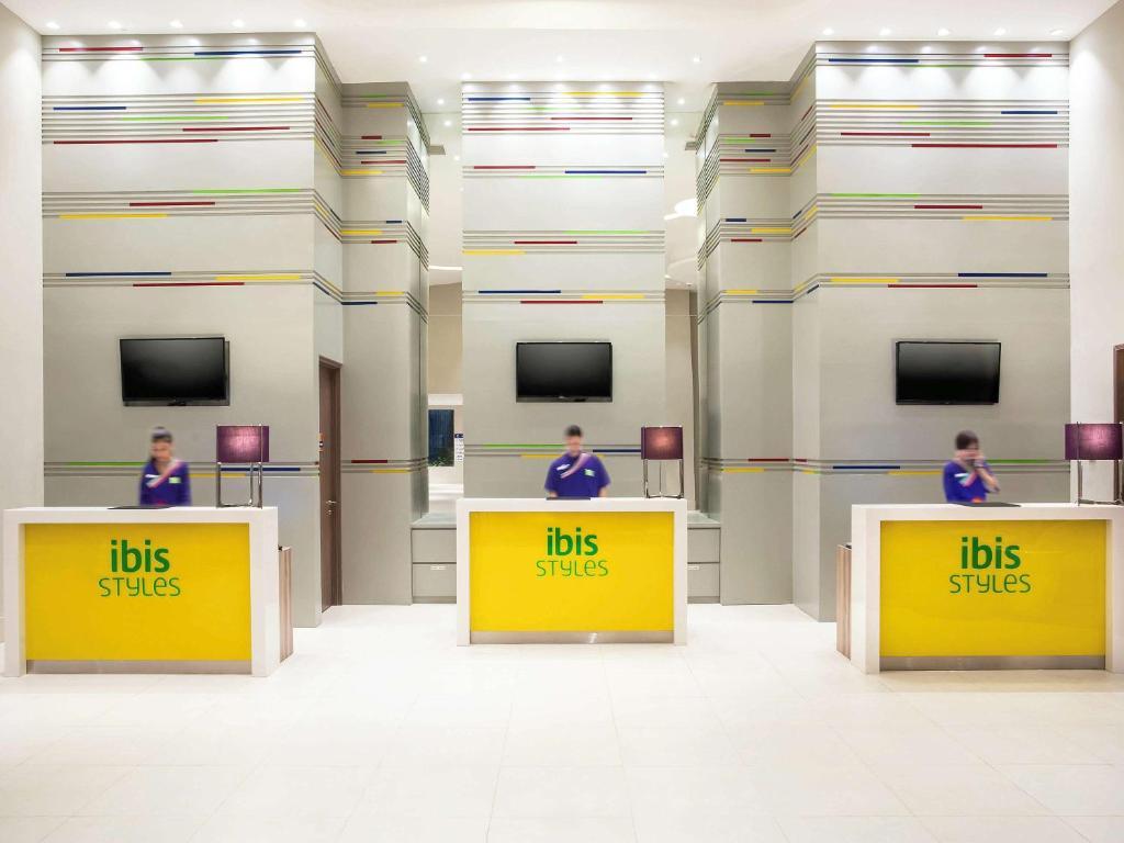 The floor plan of Ibis Styles Jakarta Mangga Dua