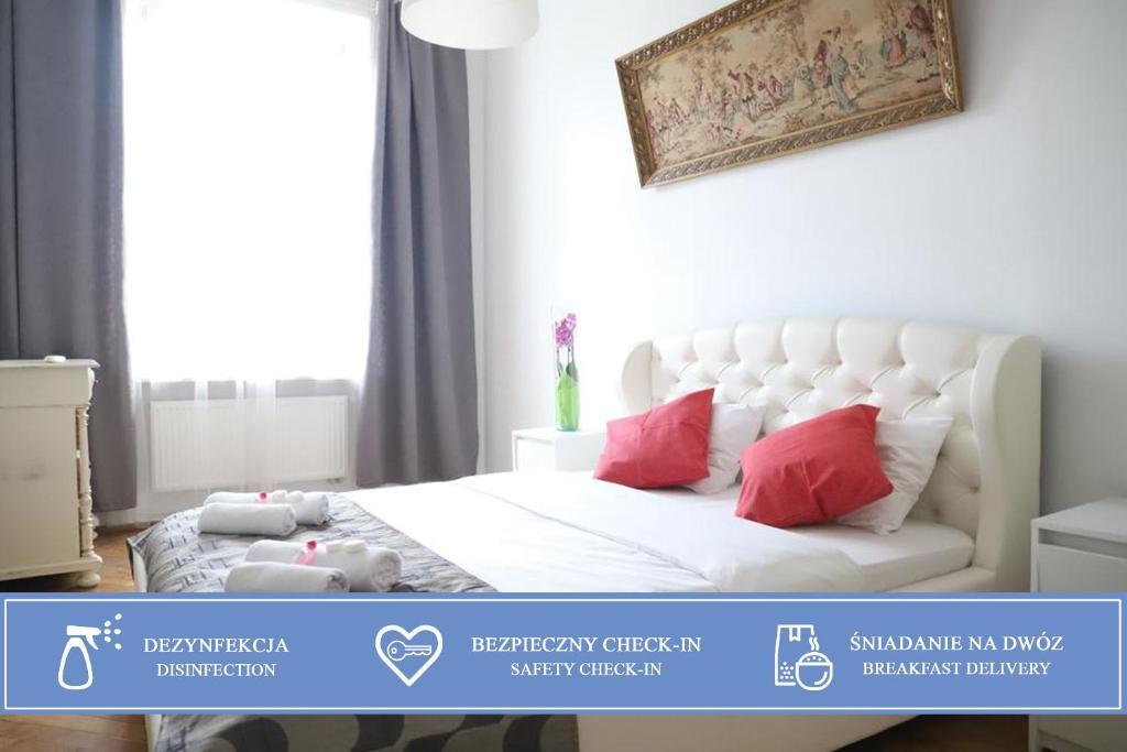 Posteľ alebo postele v izbe v ubytovaní Heaven Eleven Apartments - Old Town